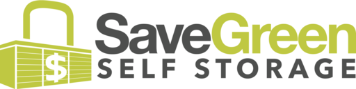 Save Green Self Storage logo